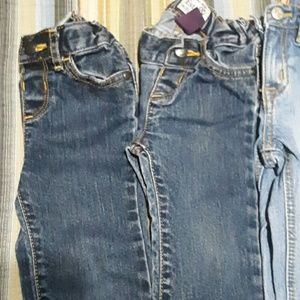 Bottoms - Lot 18 to 24 months jeans